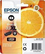 Epson 33XL PHBK 8.1ml 400pages Photo Black Ink Cartridge–Black Photo Ink Cartridge (, Expression H...