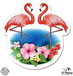 GT Graphics Flamingos - Vinyl Sticker Waterproof Decal