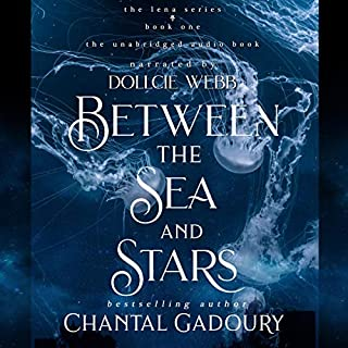 Between the Sea and Stars audiobook cover art