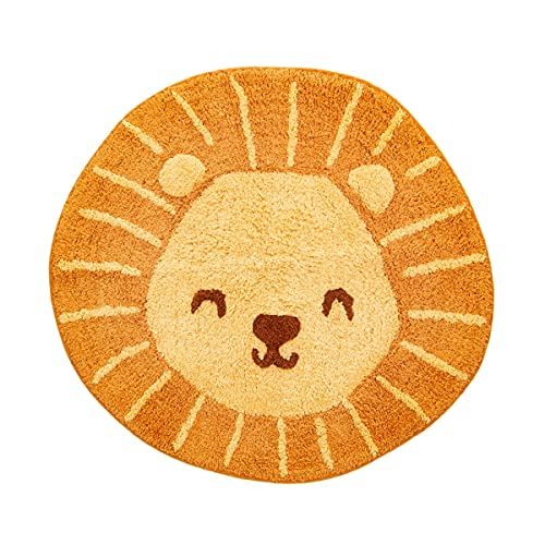 Sass Belle Tête de Lion Tapis de Sol
