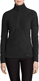 selby half zip fleece black pepper marl