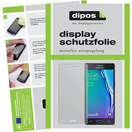 dipos I 6X Schutzfolie matt kompatibel mit Samsung Z3 Folie Bildschirmschutzfolie