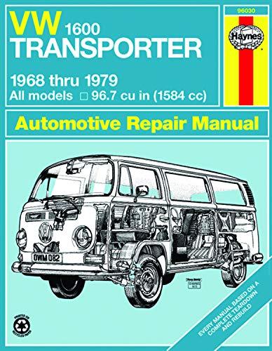 VW Transporter 1600, 1968-1979