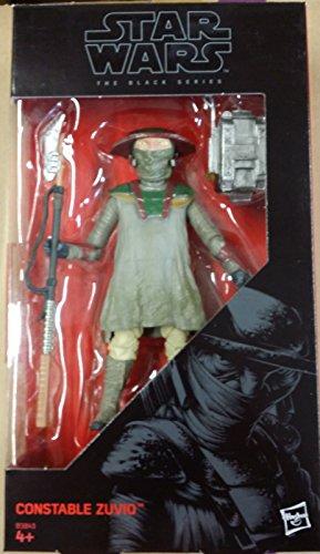 Star Wars The Black Series Constable Zuvio figure by Hasbro