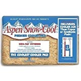 PPS Pkg # 46IP 29' x 29' Aspen Snow-Cool Evaporative Swamp Cooler Pads - Quantity 9