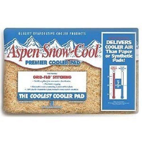 """PPS Pkg # 46IP 29"""" x 29"""" Aspen Snow-Cool Evaporative Swamp Cooler Pads - Quantity 9"""