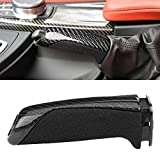 Keenso - Soffietto leva del cambio e freno a mano in fibra di carbonio ABS...