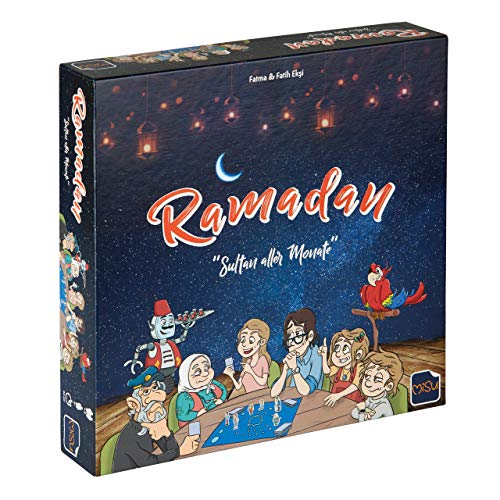 MiSu Games I Ramadan – Sultan Alla månader I brädspel runt Ramadan för hela familjen från 8 år