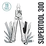 LEATHERMAN, Super Tool 300 Multitool with Premium Replaceable Wire Cutters and Saw, Stainless Steel with Nylon Sheath (FFP)