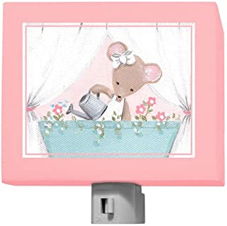 Oopsy Daisy Night Light, Pink Little Mouse, 5