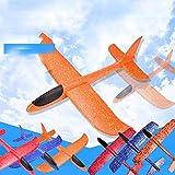 YUIO Main Jet Avions Epp Mousse Planeur Couleur Bulle Tourbillon Avion Enfants Rc Jouet Interaction Parent-Enfant (Couleur Aléatoire (490mmx 480mmx120mm))