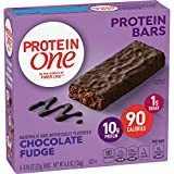 Protein One 90 Calorie Protein Bars, Chocolate Fudge (Pack of 12)