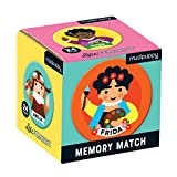 Mudpuppy Little Feminist Mini Memory Match Game, 24 Pieces (12 Pairs), Ages 3+, Develop Matching, Visual Memory, Focus, Concentration Skills, Features Charming Portraits of Historical Women