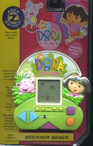 Dora New color the Explorer Electronic Held Game Hand A surprise price is realized by