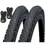 Impac Crosspac 700 x 38c Hybrid Bike Tyres with Presta Inner Tubes