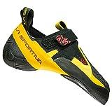 LA SPORTIVA Skwama Black/Yellow, Zapatillas de Escalada Unisex Adulto, 44 EU
