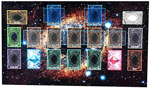 BDLV YuGiOh Playmat Master Rule 4 Link Zones Custom Playmat - MTG TCG Yu Gi Oh VG Playmat