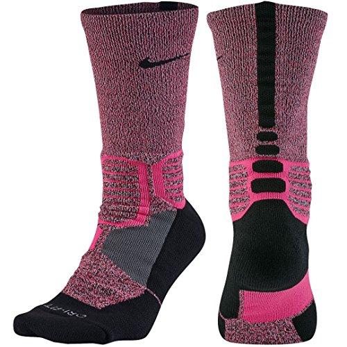 Nike Hyperelite Basketball Cro Socken Unisex L weiß/schwarz (weiß/schwarz/(schwarz))