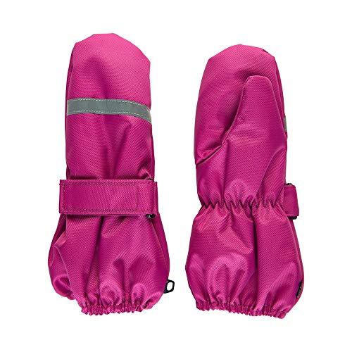 MINYMO Handschuhe Mitten Oxford Solid 160452 Farbe Rose Violet, Größe 1/2