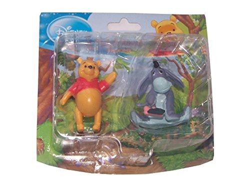 Disney Winnie Pooh Kunststoff Figuren Doppelpack: Winnie Pooh & I-AAH