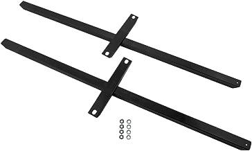 1979-2004 Mustang & Cobra 12 Gauge Subframe Connectors Black with Hardware