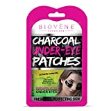 Biovène Under-Eye Augenpflaster mit Aktivkohle – Entgiftung und energiespendend für befeuchtete Augenpartie – Beruhigende Under-Eye Augenpflaster mit Aktivkohle, Collagen und Kamille...