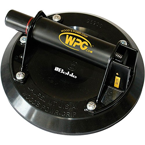 BOHLE Pumpensauger Powergrip, Durchmesser 200 mm, Tragkraft 57 kg, 1 Stück, 6023157