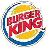 qualityprint Burger King Original Logo Decor Vinyl