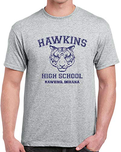 Doapee Hawkins High School Mens T-Shirt Funny Costume Strang