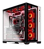 SkyTech Prism II Gaming Computer PC Desktop - AMD Ryzen 7 5800X 8-Core 3.8GHz, RTX 3080 Ti 12G GDDR6X, 1TB Gen4 NVMe SSD, 16GB DDR4 3200, RGB Fans, 360mm AIO, AC WiFi, Windows 10 Home 64-bit, White