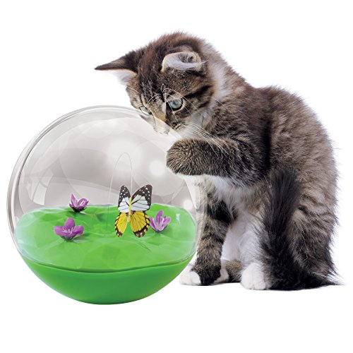 Petmate 32046 Jackson Galaxy Butterfly Ball