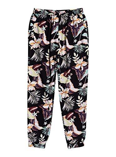 Roxy Easy Peasy - Beach Pants for Women - Strandhose - Frauen - S - Schwarz
