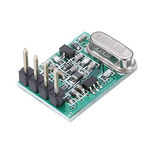 ZJF Componentes de la computadora Accesorios eléctrico Módulo de transmisión de Alto Rendimiento de 20pcs de bajo Voltaje 433MHz TX8 DC1.8V-3.6V PREGUNTE TTL Módulo inalámbrico súper heterodino