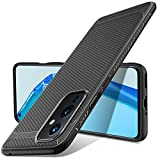 Luibor per Cover OnePlus 9, Cover Frosted Black Silicone Phone Custodia OnePlus 9.