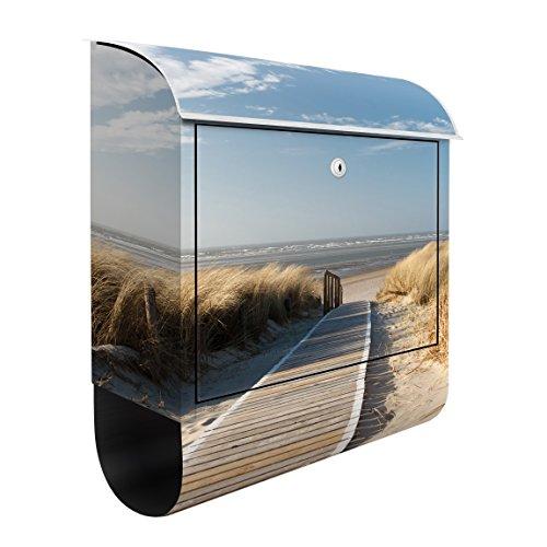 Design Briefkasten Ostsee Strand 39x46x13cm Briefkasten Briefkasten Briefkasten Deko Folie Maße: 46cm x 39cm