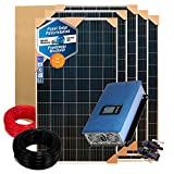 Kit Solar Autoconsumo 1000w/5000w día Inversor Inyección a Red vertido cero