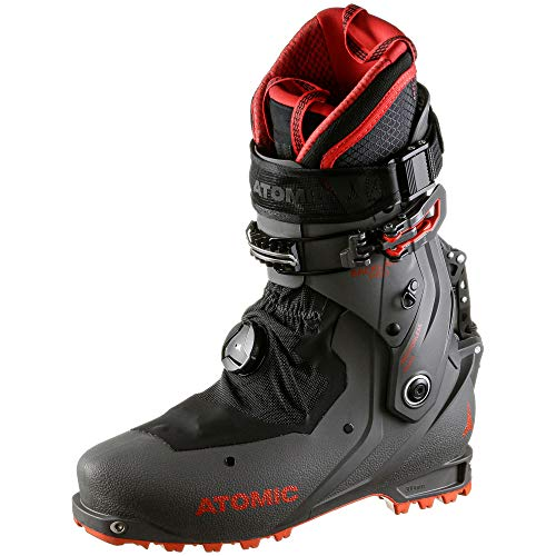 Atomic Unisex BACKLAND PRO Ski-Stiefel, Anthracite/Red, 43.5 EU