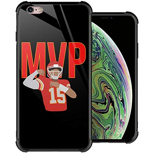 iPhone 6S Case, MVP iPhone 6 Cases, Tempered Glass Back+Soft Silicone TPU Shock Protective Case for Apple iPhone 6/6s
