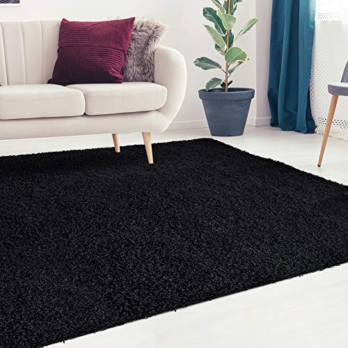 Black Area Rug: Amazon.com