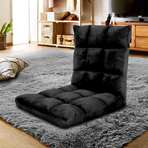 Gaming Floor Sofa Adjustable Chair for Adults