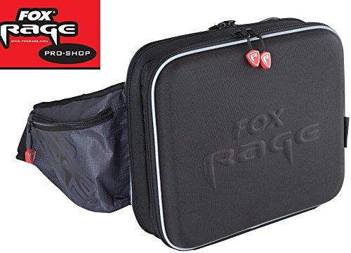 Fox Rage Voyager Shoulder Hardcase,Angeltasche inkl. 2 Angelboxen / Tackleboxen, Anglertasche zum Spinnfischen, 33x29x10cm, Fox Tasche