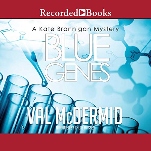 Blue Genes audiobook cover art