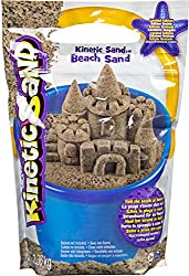 THE ONE AND ONLY KINETIC SAND NOW WITH BEACH SAND: is like magic sand that sticks to itself and not to you! It oozes, moves and melts right before your eyes. It flows through your fingers like a slow-moving liquid, but leaves them completely dry. BRI...
