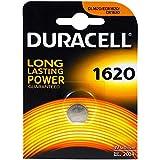Duracell CR1620 D 1-BL (DL 1620) Single-Use Battery Litio 3 V - Pilas (Single-Use Battery, CR1620, Litio, Botón/Moneda, 3 V, 1 Pieza(s))