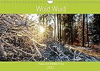 Woid Wuid - Natur und Wildlifefotos (Wandkalender 2022 DIN A4 quer): Bilder aus der Flora und Fauna des bayerischen Waldes (Geburtstagskalender, 14 Seiten )