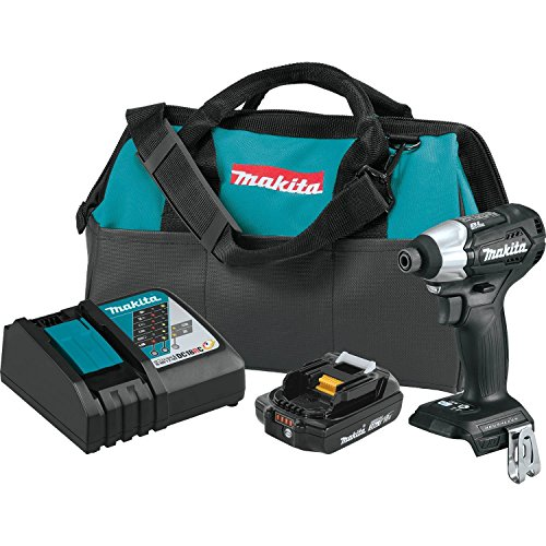 Makita XDT15R1B 18V LXT LithiumIon SubCompact Brushless Cordless Impact Driver Kit 20Ah