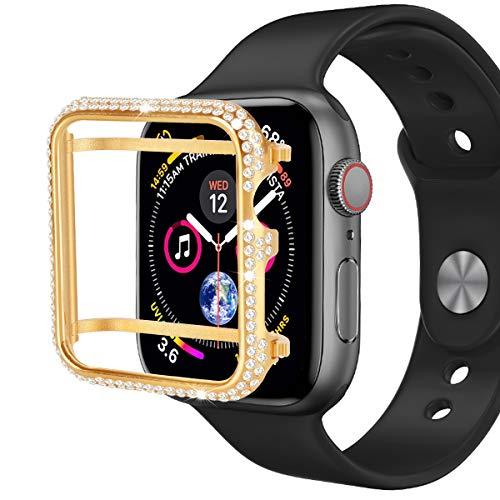 Hiseanllo - Carcasa para Apple Watch Serie 1, Serie 2, Serie 3, edición no cerámica