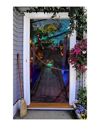 3D Halloween door banner