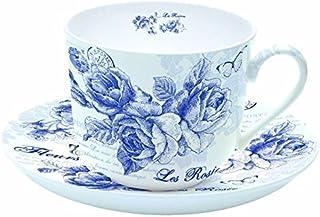 """in Geschenkbox /""""Le Jardin Secret/"""" 275 ml von Nuova R2S Easylife Tassen Set 4er"""