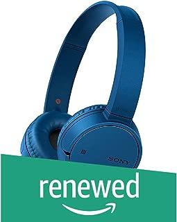 (Renewed) Sony WH-CH500 Wireless Stereo Headset (Blue)